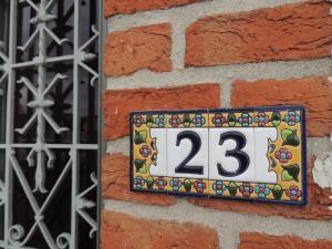 Huisnr 23 Coupure in Brugge