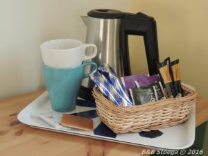 impressie van de koffiehoek